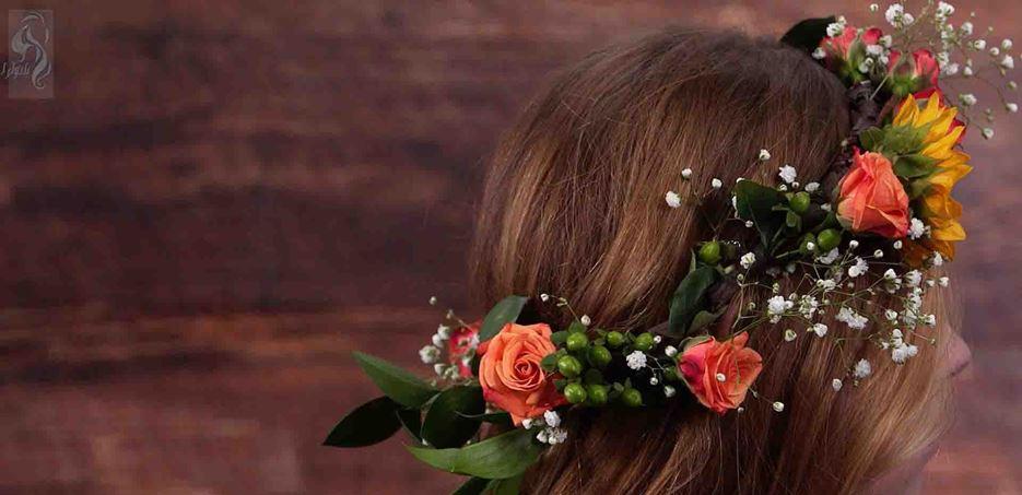 تاج گل عروس برای فرمالیته