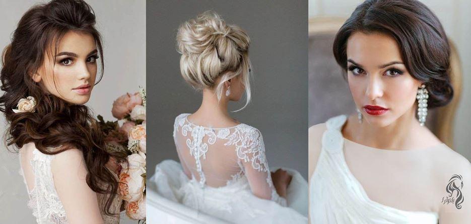 مدل مو و صورت عروس