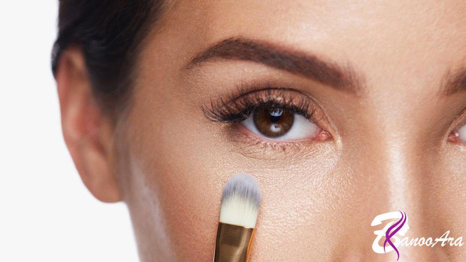 کاربرد کانسیلر در آرایش صورت