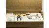 دستگاه تاتو طلایی کارتریج پیچی