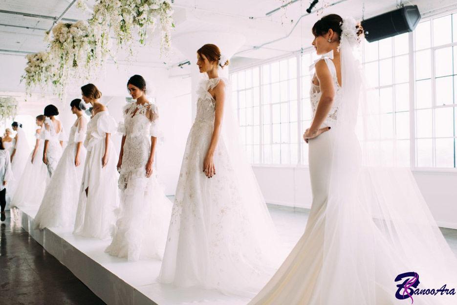 آشنایی با انواع لباس عروس