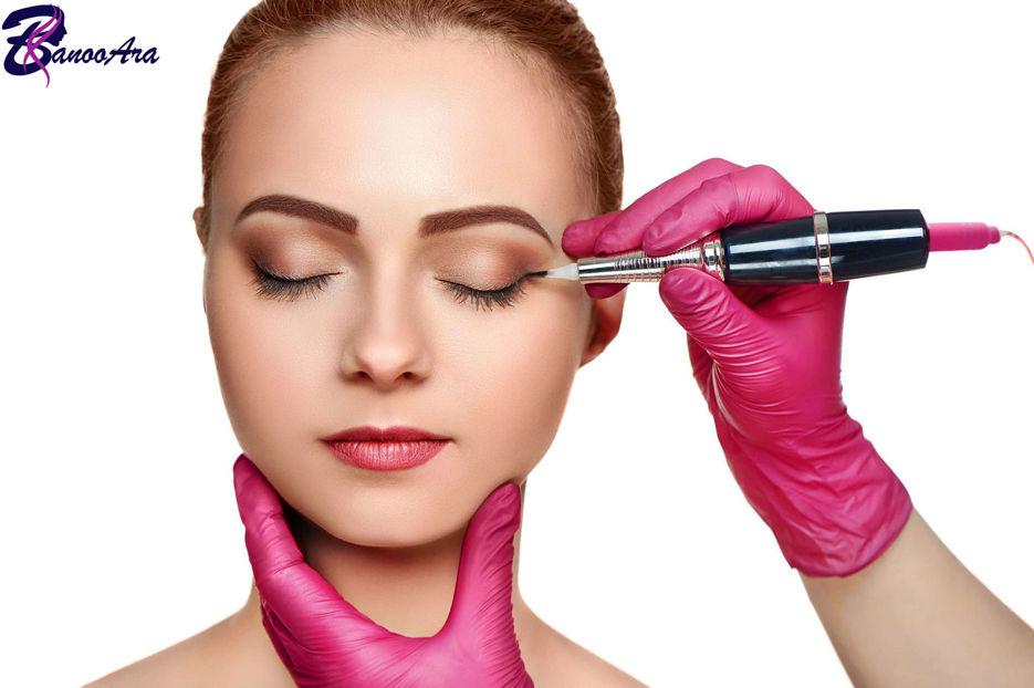 آموزش پوست شناسی در تاتو صورت