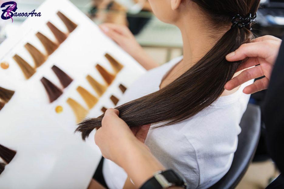 راهنمای تشخیص رنگ مو از روی کاتالوگ