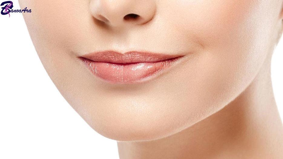 راز داشتن لب هایی زیبا بدون آرایش
