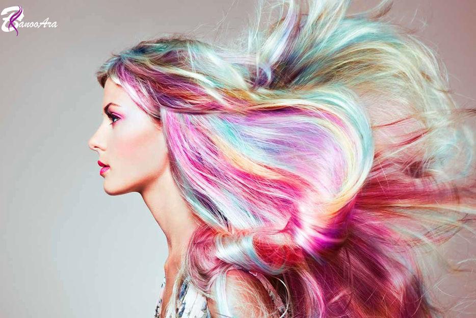 آشنایی با رنگ موی هلوگرافیک